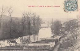 DONJEUX (Hte.-Marne): Vallée De La Marne - Cimenterie - France