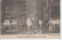 CPA Firminy - Aciéries Et Forges De Firminy - Fours à Puddler (belle Scène) - Firminy