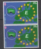 Europa Cept 2000 Jersey 26p Value (pair) ** Mnh (46100D) - 2000