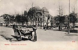 Gand Marché Du Vendredi Attelage - Gent