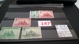 Timbre Ancien Vendu à 20% De Sa Valeur Catalogue Cob 481/483* - 1905 Grosse Barbe