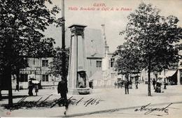 Gand Vieille Boucherie Et Café De La Potence Poste Et Télégraphes 1905 - Gent