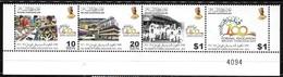 Brunei 2014 100 Years Of Formal Education Strip MNH - Brunei (1984-...)