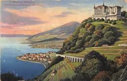 Glion Sur Montreux - Grand Hôtel Bellevue Et Belvédère - VD Vaud