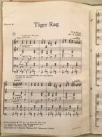 (97) Partituur - Partition - Tiger Rag - Pi Scheffer - N. La Rocca - 10p. - Partituren