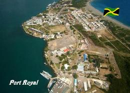 Jamaica Port Royal Aerial View New Postcard Jamaika AK - Jamaica