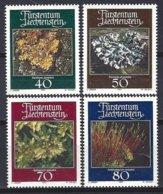 Liechtenstein Yv 717/20 Flore : Mousses Et Lichens ** Mnh - Végétaux