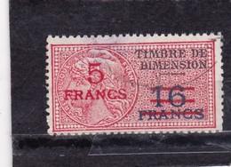 T.F De Dimension N°119 - Revenue Stamps