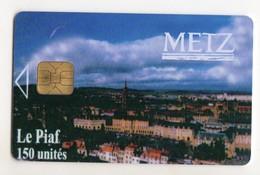 PIAF FRANCE METZ Ref Passion PIAF 57000-16 150 U ORGA 3 Date 09/08 Tirage 1000 Ex - Francia