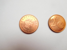 Piéce 2 Centimes Euro , Luxembourg , 2002 - Luxemburgo