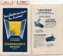 STEREOCARTE - N° 2243.2 - DE GUERANDE à PIRIAC - Visionneuses Stéréoscopiques