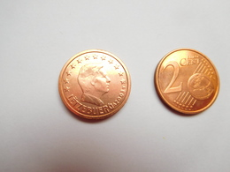 Piéce 2 Centimes Euro , Luxembourg , 2003 - Lussemburgo