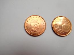 Piéce 5 Centimes Euro , Luxembourg , Lëtzebuerg ,  2002 - Lussemburgo