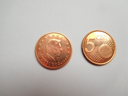 Piéce 5 Centimes Euro , Luxembourg , Lëtzebuerg ,  2003 - Luxemburg
