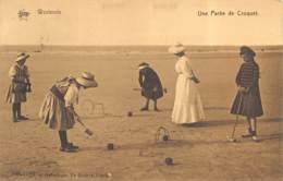 Westende - Une Partie De Croquet - De Graeve N° 168-1166 - Westende
