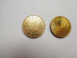 Piéce 10 Centimes Euro , Belgique 2001 - Bélgica