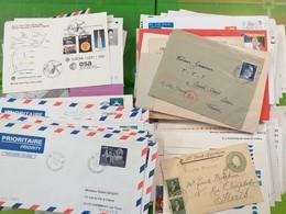 LOT N° E 137   MONDE   Une Archive De + De 250 Lettres - Collezioni (senza Album)