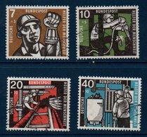 RFA 1957 Série Des Métiers  N° Michel 270-273  (X3) - [7] Federal Republic