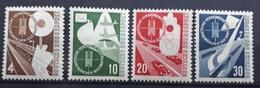 BRD 1953, Mi 167-170 MNH Postfrisch - [7] Federal Republic