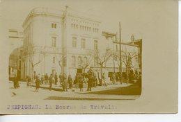 1923. PHOTO CPA 66 PERPIGNAN. LA BOURSE DU TRAVAIL 1906 - Perpignan