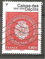 FRANCE 2016 :Y T N °5045 -oblitéré - Gebraucht