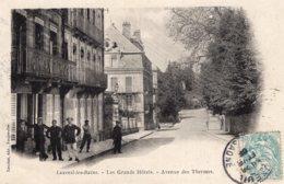 5358 Cpa Luxeuil Les Bains - Les Grands Hôtels, Avenue Des Thermes - Luxeuil Les Bains