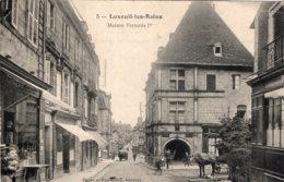 5359 Cpa Luxeuil Les Bains -  Maison François 1er - Luxeuil Les Bains