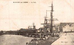 ST VALERY SUR SOMME LE PORT - Saint Valery Sur Somme