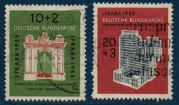 RFA 1953   Exposition IFRABA  N° Michel  171-172 - [7] West-Duitsland