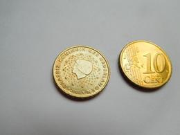 Piéce 10 Centimes Euro , Pays Bas , Nederland , 2000 - Pays-Bas
