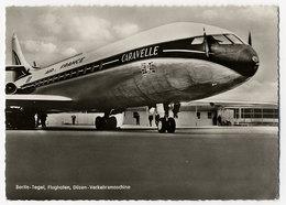 Flugzeug, Flughafen, Berlin Tegel, Air France, Caravelle - 1946-....: Era Moderna