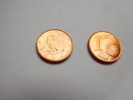 Piéce 1 Centime Euro , France , 2000 - France