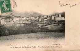 ST LAURENT DE CERDANS VUE GENERALE ET MONT CAPEL - Autres Communes