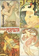 Picture Postcards Czech Republic Mucha's Paintings/Posters  2003 - Schilderijen