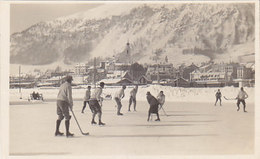 Samedan - Eishockey-Match - 1923      (P-212-90502) - Winter Sports