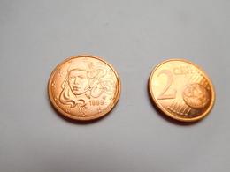 Piéce 2 Centimes Euro , France , 1999 - France