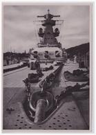 """DT- Reich (002282) Propaganda Sammelbild """"Adolf Hitler"""" Bild 151,Turm Und Gefefechtsmast Des Admiral Scheer Von Der Back - Alemania"""