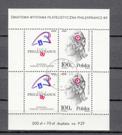 1989  BLOC  N° 118 OBLITERE     CATALOGUE  YVERT&TELLIER - Blocks & Sheetlets & Panes