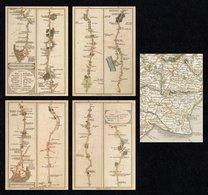 GREAT BRITAIN 1991 Bicentenary Of The Ordnance Survey: Set Of 5 NPM Postcards MINT/UNUSED - 1952-.... (Elizabeth II)