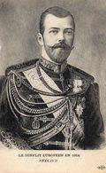 LE CONFLIT EUROPEE EN 1914 NICOLAS II - Russie