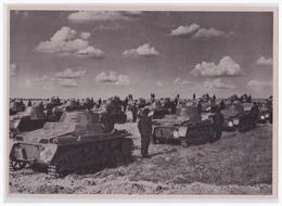"""DT- Reich (002292) Propaganda Sammelbild """"Adolf Hitler"""" Bild 158, Wir Haben Wieder Tanks Durch Hitlers Tat - Briefe U. Dokumente"""