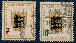RFA 1955   Bade-Wurtemberg   N° Michel  212-213  (X2) - [7] Federal Republic