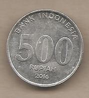 Indonesia - Moneta Circolata Da 500 Rupie - 2016 - Indonesia