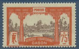 GABON 1911 YT 62** MNH - Neufs