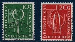 RFA 1955   Exposition Westropa  N° Michel  217-218 - [7] Federal Republic