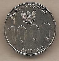 Indonesia - Moneta Circolata Da 1000 Rupie - 2010 - Indonesia