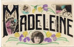 MADELEINE - Fantaisie - Vues Multiples  - Fleurs    (2712 ASO) - Voornamen