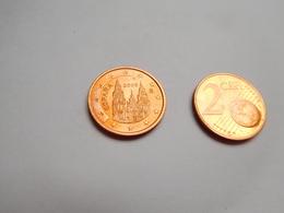 Piéce 2 Centimes Euro , Espagne , Espana , 2008 - España