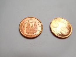 Piéce 5 Centimes Euro , Espagne , Espana , 2003 - Espagne