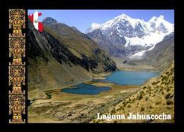 Peru Huayhuash Mountains Jahuacocha Lagoon New Postcard - Peru